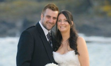 May 9th – Kim and Mark at Thistle Altens Hotel