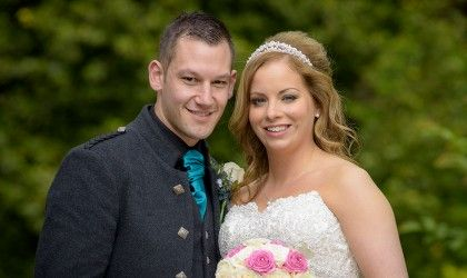 August 1st – Suzy and Stephen at Norwood Hall