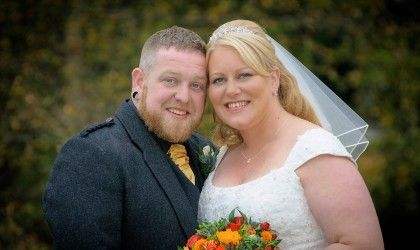 October 17th – Lucy and Colin at Coo Cathedral