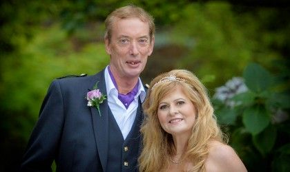 October 17th – Di and Bernard at Kings College and Norwood Hall
