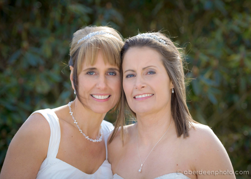 April 1st – Susan and Julie at Meldrum House