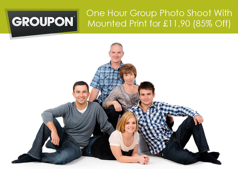 Groupon portrait offer