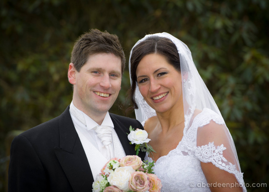 April 6th – Marianne and Roy at Meldrum House