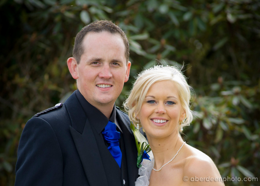 April 20th – Lynn and Michael at Meldrum House