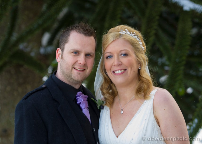 March 10th – Sarah and Ryan at Pittodrie House Hotel