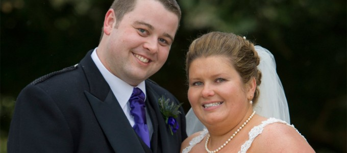 March 23rd – Emma and Paul at Maryculter House