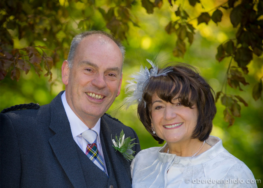 May 26th – Jacqui and Stewart at the Marcliffe