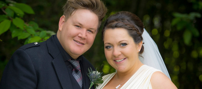 June 1st – Sarah and Paul at the Seafield Club