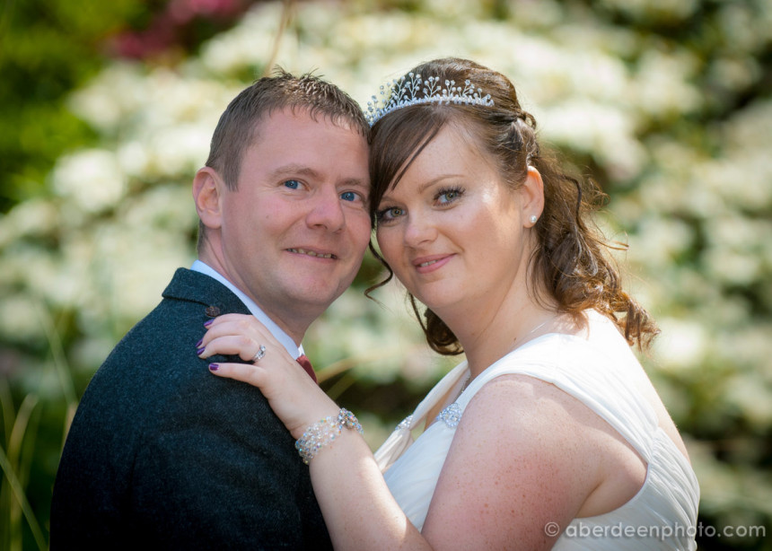 June 15th – Jennie and Michael at the Palm Court
