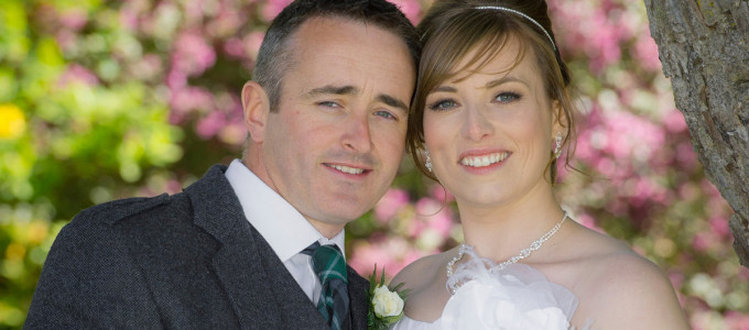 June 15th – Laura and Graeme at Maryculter House Hotel