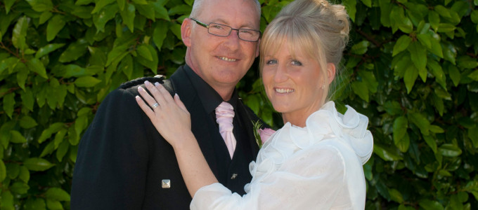 July 19th – Andrea and Arthur at the Palm Court