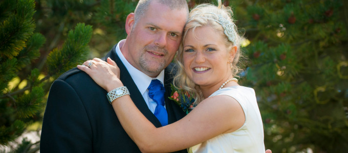 August 3rd – Diane and Lee at the Thistle Altens