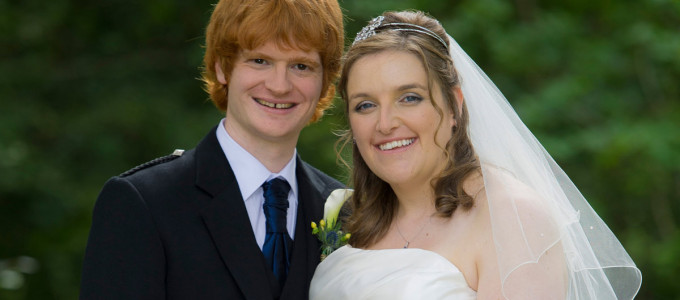 August 17th – Ianthe and Mark at Atholl Palace