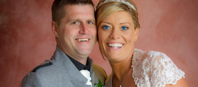 August 23rd – Claire and Willie at Meldrum House