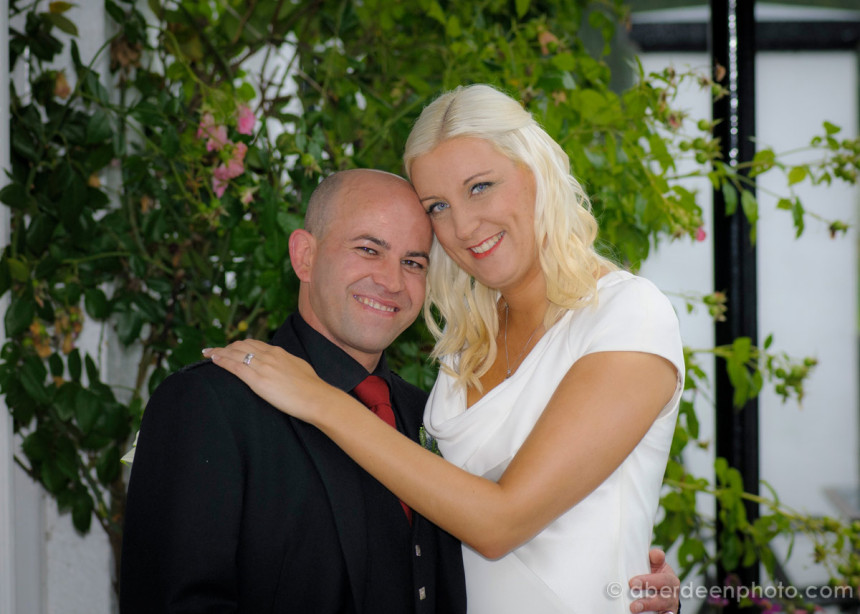 August 24th – Rachel and Scott at Craigiebuckler Church