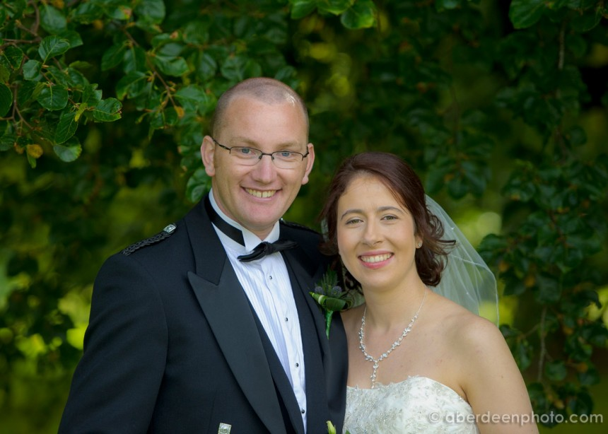 October 5th – Isabella and Cameron at Chapel of Garioch Church
