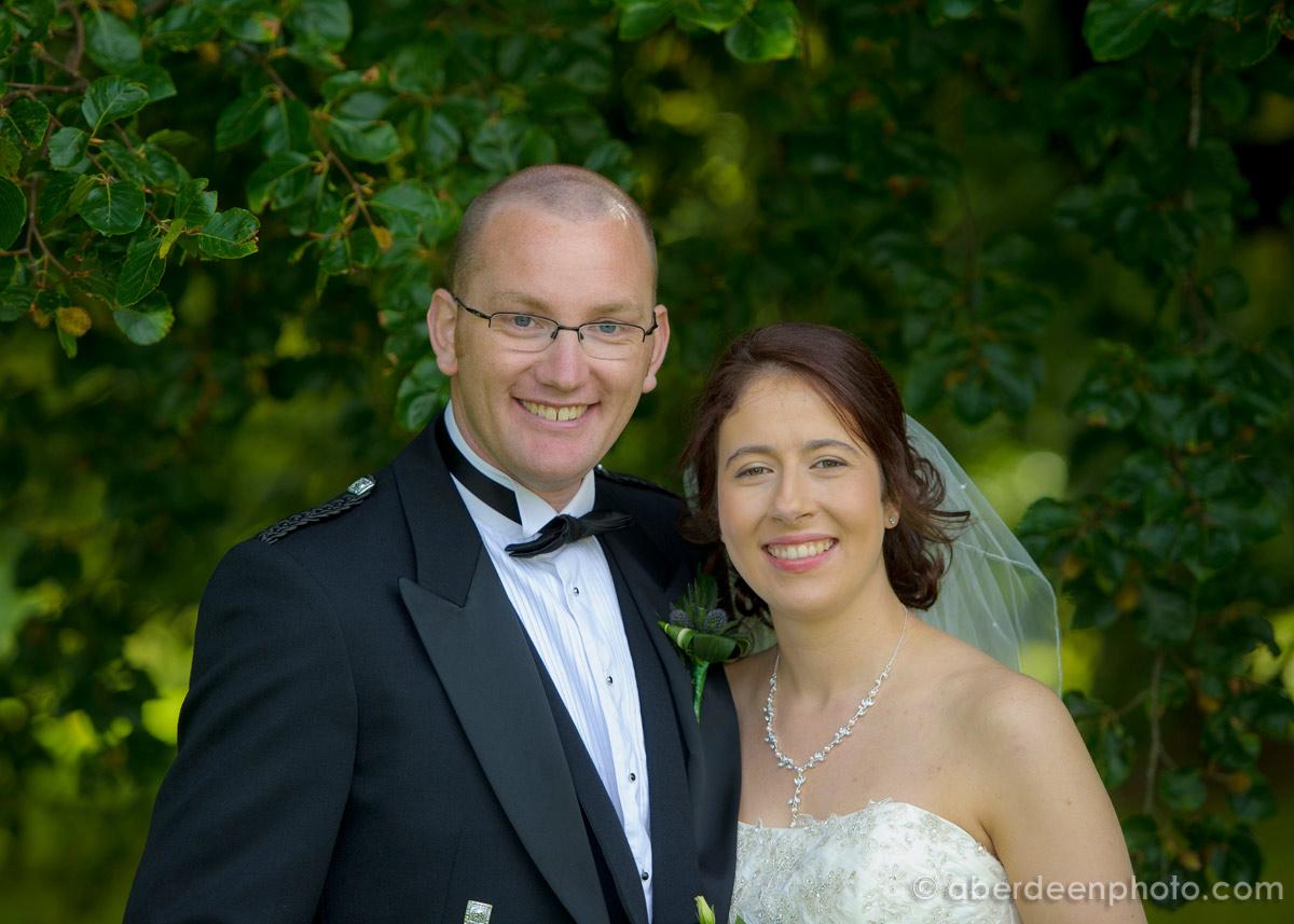 October 5th – Isabella and Cameron at Chapel of Garioch Church