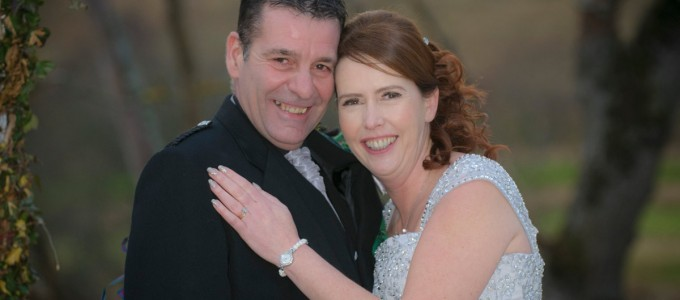 December 28th – Simone and Kevin at Maryculter House Hotel