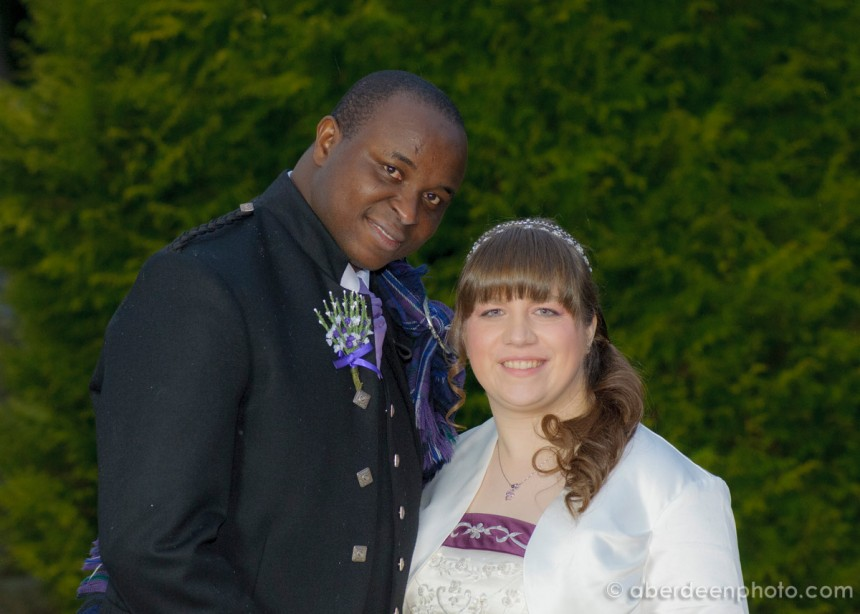 February 8th – Melanie and Felix at Dunnottar Church