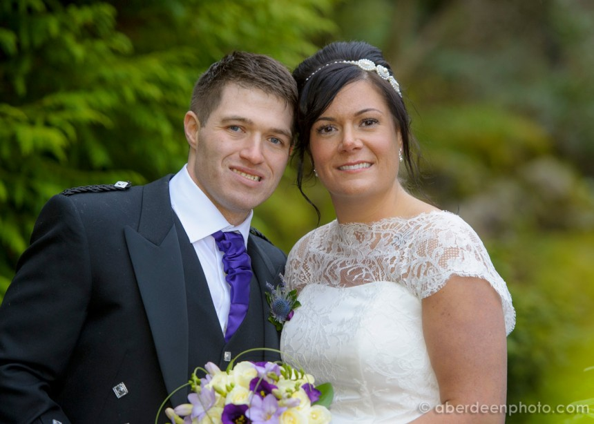 February 8th – Kayleigh and David at the Palm Court