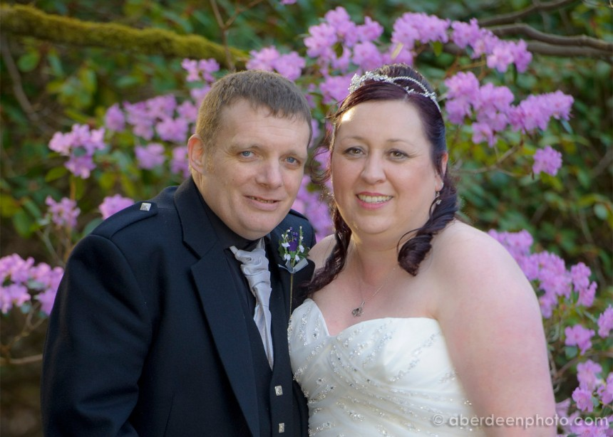 March 21st – Angela and Stuart at the Palm Court