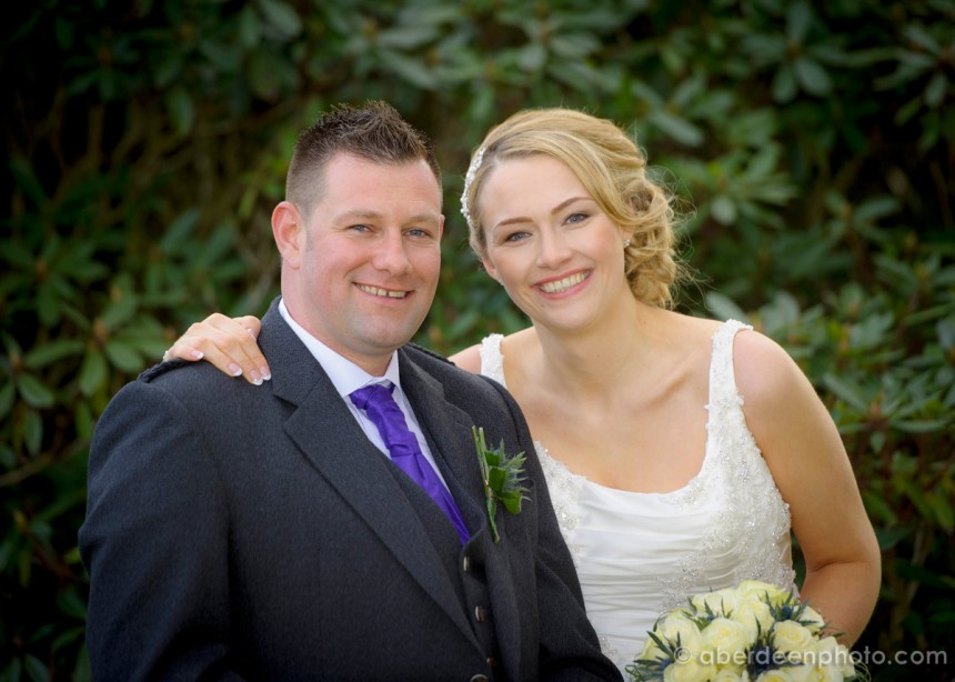 March 8th – Wendy and Chris at Meldrum House
