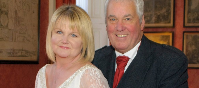 March 29th – Jacqui and George at the Royal Northern University Club