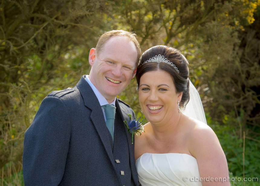 April 21st – Leanne and Gary at Old Course Hotel