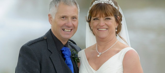 April 25th – Laurie and Michael at Meldrum House