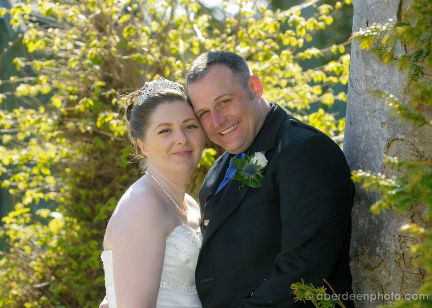 May 2nd – Claire and Grant at Bancar, Lonmay