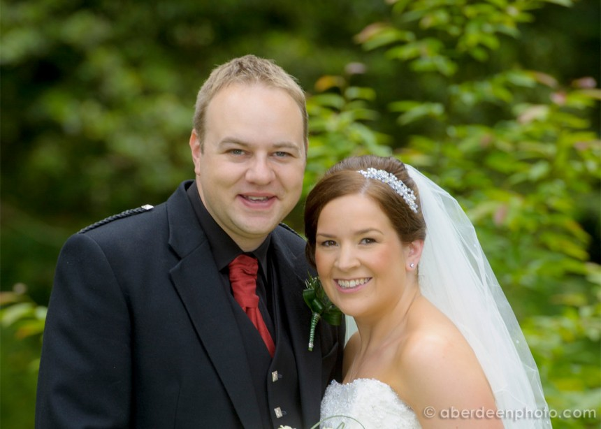 July 5th – Alison and Graham at Norwood Hall