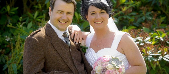 July 18th – Stephanie and Craig at Meldrum House