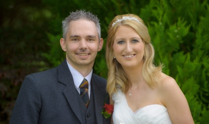 July 20th – Julie and Danny at Ardoe House