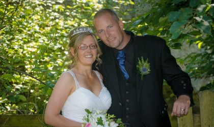 July 25th – Cheryl and Peter at the Old Mill Inn