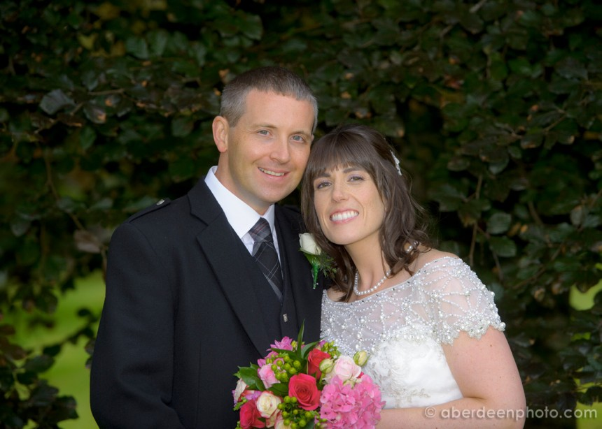 August 9th – Kim and Chris at Raemoir House Hotel