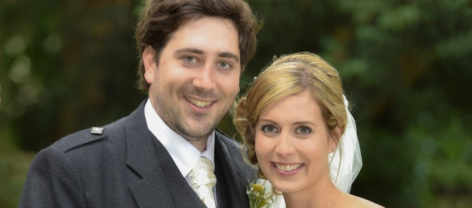 August 30th – Jenny and Kevin at Maryculter House Hotel