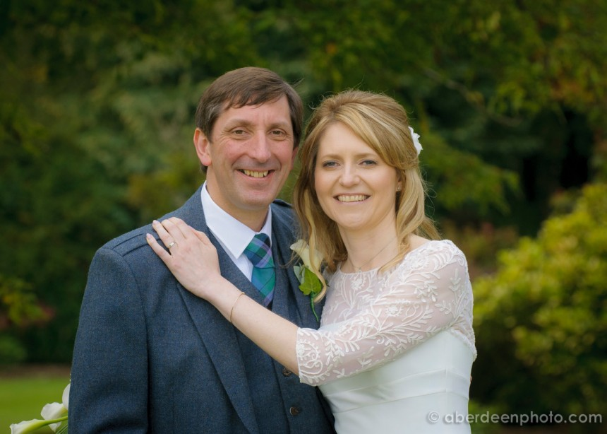 September 13th – Gillian and Gavin at Fasque House