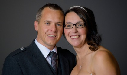 November 1st – Laura and Mark at the Thistle, Altens