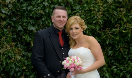 March 6th – Rebecca and James at Maryculter House