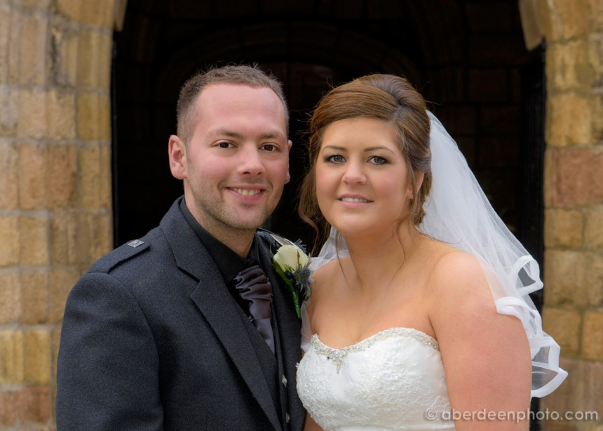March 7th – Jenna and Greg at St. Machars Cathedral and The Chester Hotel