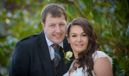 March 20th – Kelly and Steven at Thainstone House Hotel