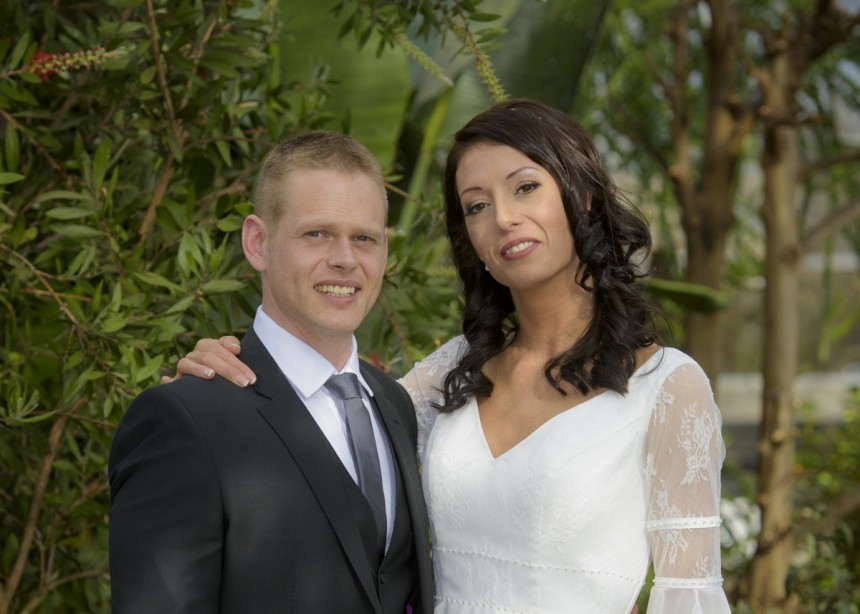 March 28th – Karolina and Jason at the Winter Gardens