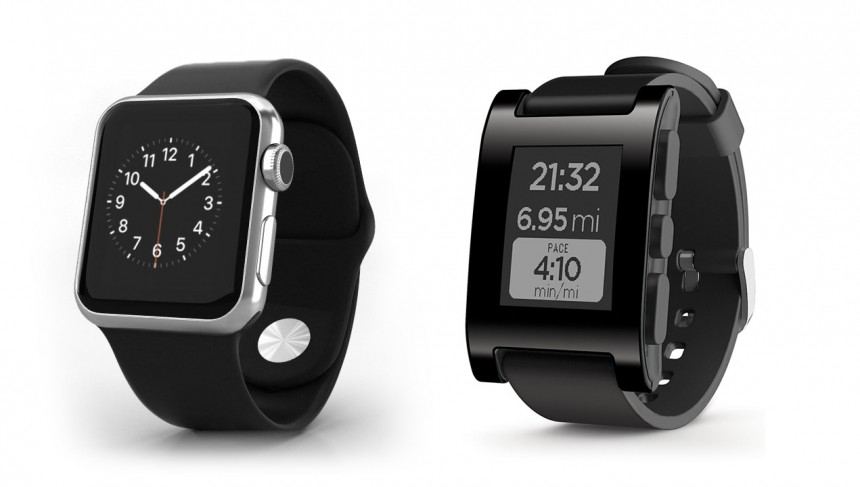 Smart watches (Pebble and Apple)