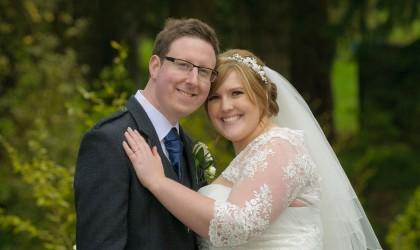 May 15th – Jenny and Darren at Cults Parish Church