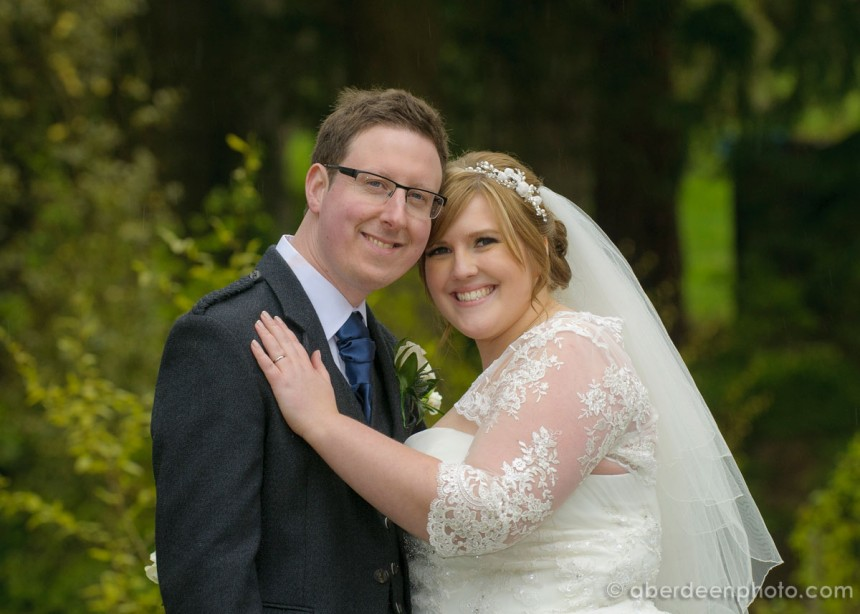May 15th – Jenny and Darren at Cults Parish Church