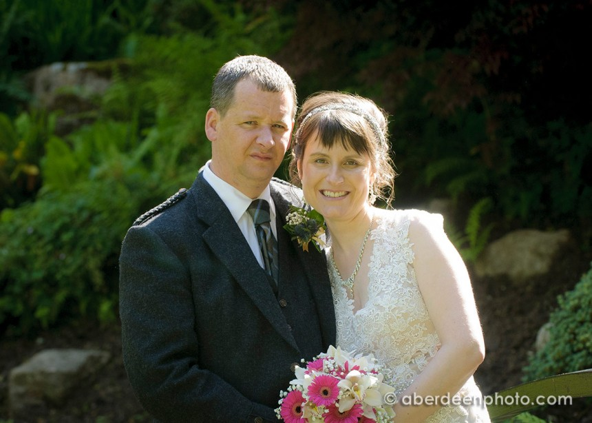 July 18th – Gillian and Martin at Palm Court Hotel