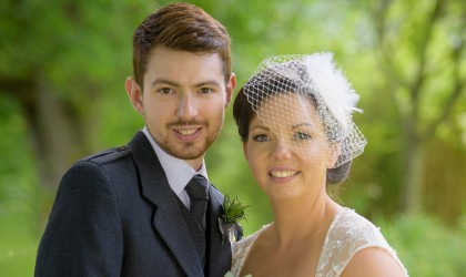 July 18th – Carly and Ryan at Banchory Lodge Hotel