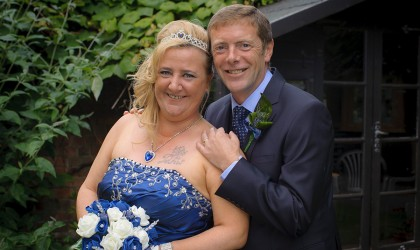 July 24th – Joan and Richard at Marischal College