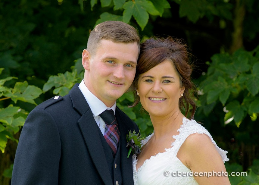 July 31st – Lisa and Chris at Altens Thistle