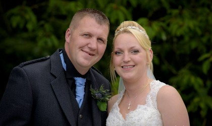 August 7th – Lisa and Martin at Cults Hotel